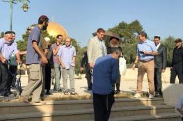 """المتطرف """"غليك"""" يقود اقتحاما استفزازيا جديدا للمسجد الأقصى"""