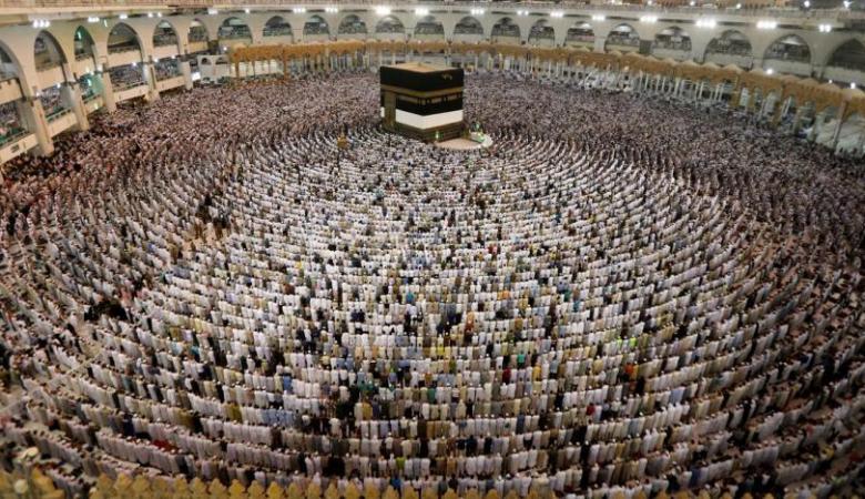 """السعودية : """"فخورون وسعيدون بخدمة حجاج بيت الله الحرام """""""