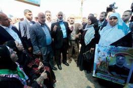 هنية: قضية الأسرى على رأس أولويات حركة حماس