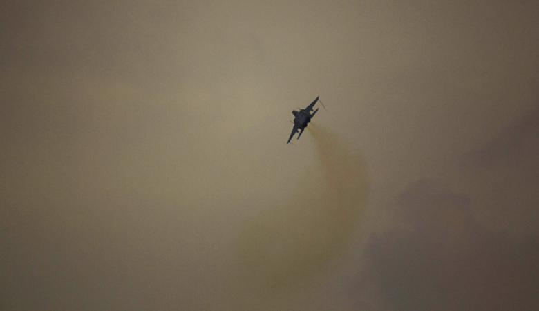 اصابات في قصف اسرائيلي عنيف على سوريا
