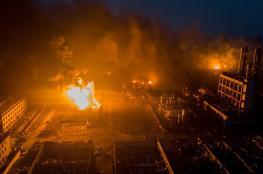 ارتفاع عدد ضحايا انفجار منشأة كيميائية بالصين لـ 64 قتيلًا