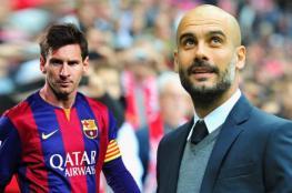 ميسي  يربط مستقبله مع برشلونة بعودة غوارديولا