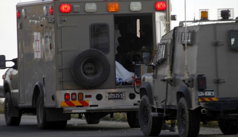 اصابة 4 جنود اسرائيليين بانقلاب جيب عسكري