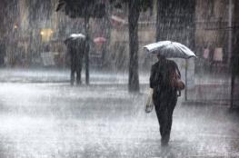 حالة الطقس: أمطار على مختلف المناطق وانخفاض على درجات الحرارة