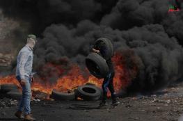 اصابات في قمع الاحتلال لمسيرة كفرقدوم الاسبوعية