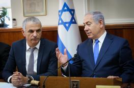 وزير المالية الاسرائيلي عن التحقيقات مع نتنياهو: نمر بفترة غير سارة لا نحسد عليها