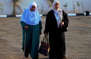 مواصلة حجاج فلسطين المغادرة الى الاراضي الحجازية عبر معبر الكرامة