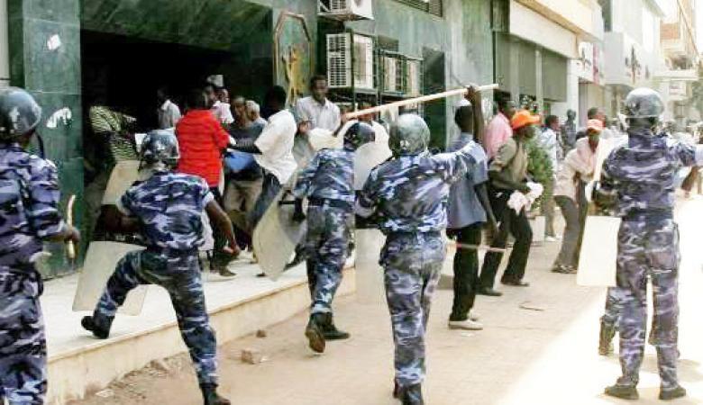 الامن السوداني يشن حملة اعتقالات واسعة