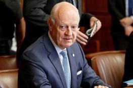 المبعوث الاممي الخاص لسوريا يعلن نيته الاستقالة من منصبه