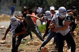 اصابتان خلال قمع الاحتلال لمسيرة كفر قدوم