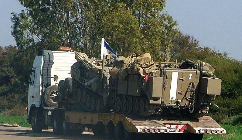 """""""اسرائيل """" تقرر استنفار خمس كتائب عسكرية في الضفة الغريبة"""