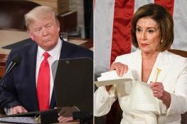 """رئيسة مجلس النواب الامريكي تعبر عن """"قلقها """" من خطة الضم"""