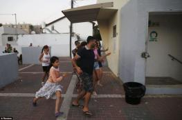 مستوطنوا غلاف غزة يقررون المبيت في الملاجئ الليلة