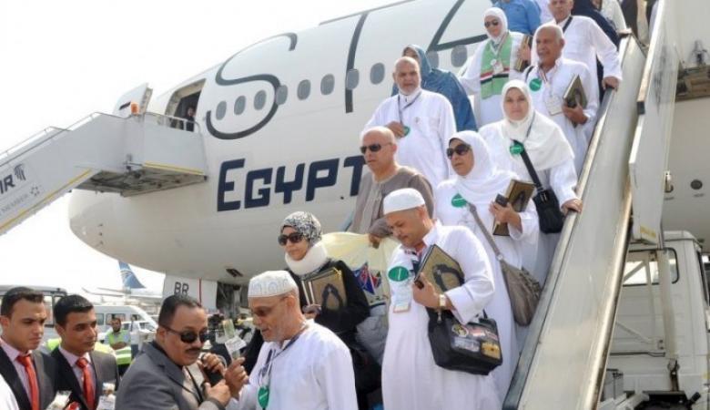 762 حاجا من حجاج غزة يصلون إلى مطار القاهرة