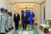 """مباحثات بين الرئيس """"عباس """" ورئيس ايرلندا في دبلن"""
