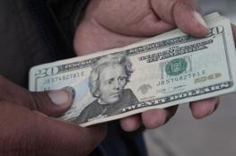 الدولار عند ادنى سعر له مقابل الشيقل منذ خمس سنوات