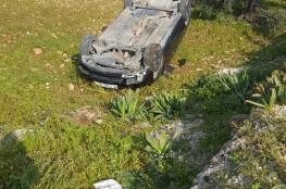 مصرع شخصين واصابة أكثر من 160 في حوادث سير بالضفة الغربية خلال الاسبوع الماضي
