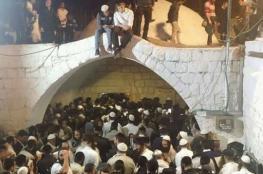 50 الف مستوطن اقتحموا الحرم الابراهيمي وقبر يوسف
