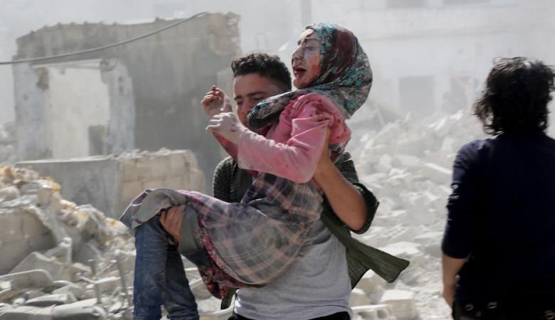 عشرات القتلى والجرحى باشتباكات دامية في ادلب السورية