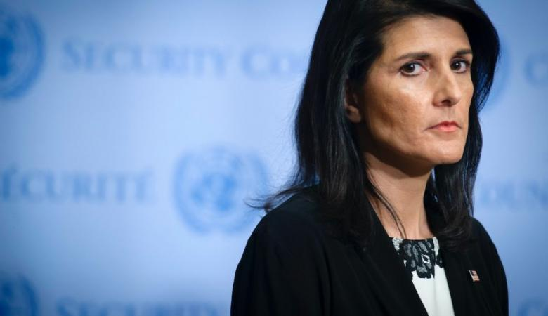 هايلي : لن اسمح لأحد بالتسلط على اسرائيل