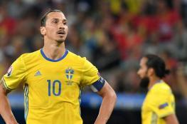 مدرب السويد يرفض مشاركة إبراهيموفيتش في مونديال روسيا