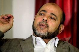 """أبو مرزوق يرد على """"مدح"""" الاحتلال لحركة حماس"""