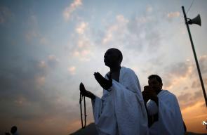 ضيوف الرحمن على عرفات لتأدية الركن الأعظم للحج