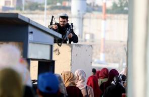 جانب من توجه الفلسطينيين للصلاة بالمسجد الأقصى المبارك في الجمعة الثالثة من رمضان