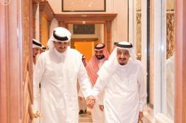 الملك سلمان يبدأ أول زيارة رسمية لقطر