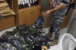 ضبط مسدسات بلاستيكية وخرز ممنوعة من التداول برام الله