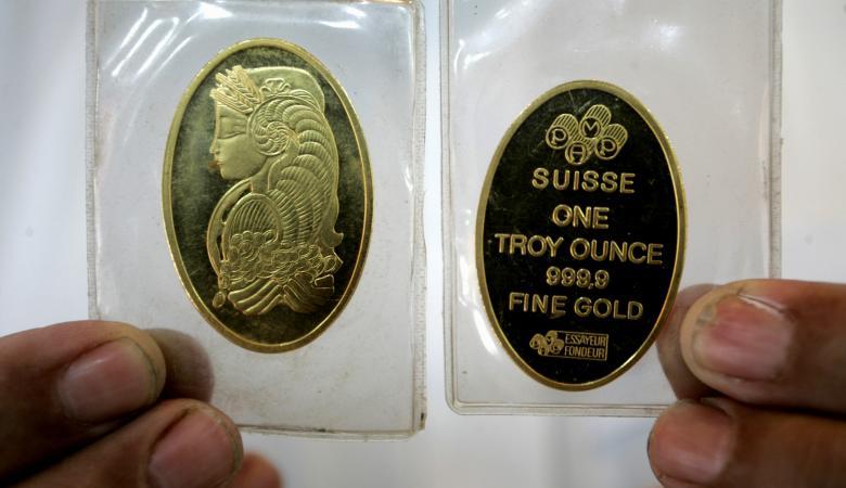 انخفاض مفاجئ على اسعار الذهب