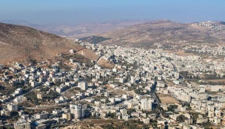 قرار اسرائيلي بالاستيلاء على مساحات شاسعة من اراضي نابلس