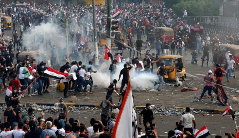 مقتل 4 وإصابة العشرات في احتجاجات العراق