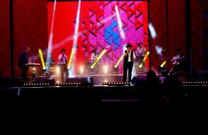 عرض موسيقي لفرقة الإنس والجام ضمن فعاليات مهرجان وين ع رام الله