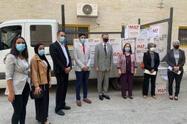 الصحة تتسلم اجهزة تنفس صناعي من بريطانيا