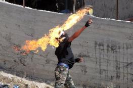 """السجن 18 عاما وغرامة 50 الف شيقل  لفلسطيني بتهمة القاء  """"زجاجة حارقة"""""""