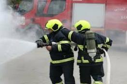 الدفاع المدني يعلن تعامله مع 39 حادث حريق وإنقاذ