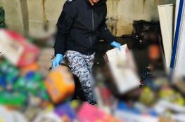 ضبط 4 أطنان مواد تموينية منتهية الصلاحية في ضواحي القدس