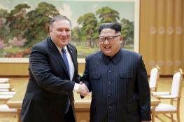 """وزير الخارجية الامريكي يختتم زيارة لكوريا الشمالية بعد لقاء جمعه """"بكيم """""""