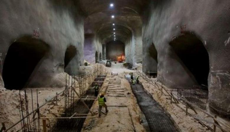 هآرتس تكشف : اسرائيل تبني انفاق ضخمة بالقدس تتسع لمئات آلاف المقابر