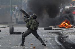 اصابات في مواجهات بالضفة وغزة