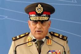 وزير الدفاع المصري : اتخذنا المزيد من التدابير الامنية لحماية الحدود