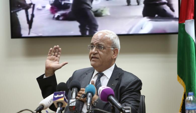 عريقات : ورشة البحرين مصممة لتدمير الشعب الفلسطيني