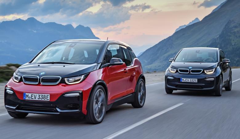 BMW i3S تنطلق بمحرك مطور وتصميم أكثر رياضية