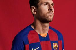 برشلونة يكشف عن قميص الموسم الجديد
