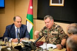 الملك الاردني يتوعد الارهابيين بالرد الصارم  والقوي
