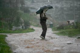 أمطار مصحوبة بعواصف رعدية مع ساعات ظهر اليوم