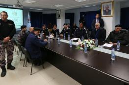 الحمد الله يتفقد غرفة العمليات المركزية للدفاع المدني في رام الله