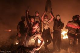 اصابة شبان برصاص الاحتلال خلال فعاليات الارباك الليلي بقطاع غزة