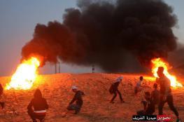 اصابة 4 شبان برصاص الاحتلال في فعاليات الارباك الليلي